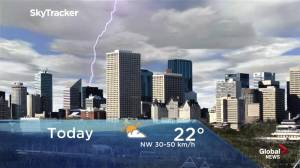 Edmonton early morning weather forecast: Tuesday, June 18, 2019