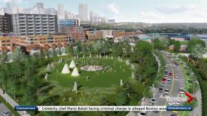 City of Edmonton unveils design for west part of Rossdale