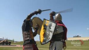 Calgarians suit up to recreate historical battles: 'We can get our geek on!'