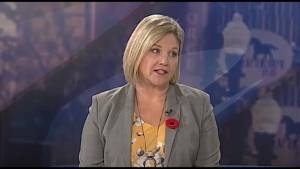 Ontario NDP leader Andrea Horwath visits Global Peterborough