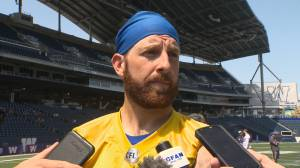 RAW: Blue Bombers Matt Nichols Interview