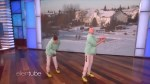 Teen twins from Waterloo show off puck skills on Ellen Degeneres show