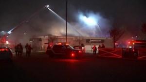 Suspicious fire destroys Surrey pub