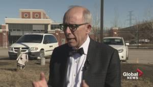 Alberta Party leader makes dental health announcement (00:52)