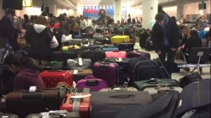 Investigation launched after JFK airport sees massive delays, baggage delays in New York after winter storm