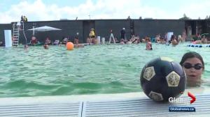 Ways you can avoid crowds at outdoor Edmonton pools