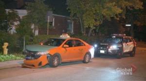 Man allegedly crashes stolen taxi and barricades himself inside Toronto home, SIU called in