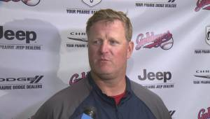 Winnipeg Goldeyes Manager Rick Forney