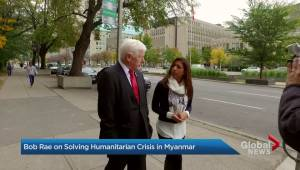 What Bob Rae thinks Canada can do to help solve the Rohingya crisis.
