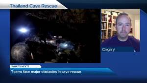 What's next for rescuers trying to save children trapped in a cave in Thailand?