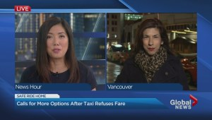 Growing backlash over taxi service refusal video