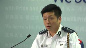 Hong Kong police appeal for order on eve of planned airport protests