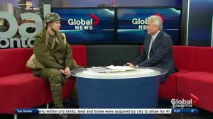 Edmonton high school student starts unique initiative to remember First World War