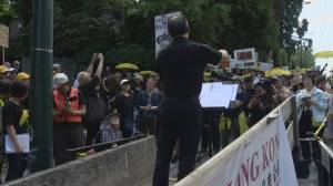 Vancouver protesters keep up fight against Hong Kong extradition bill