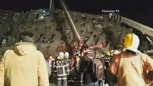 6.4-magnitude earthquake strikes southern Taiwan