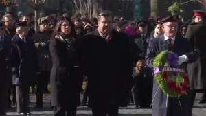 Montrealers gather to mark Remembrance Day