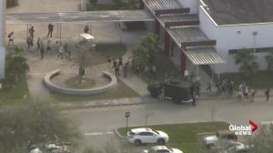 Students evacuated from school in Florida following possible shooting