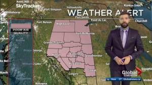 Edmonton noon weather forecast: May 30