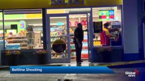 Police investigate shooting in Calgary's Beltline community