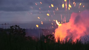 Bracing for big explosion in Hawaii's Kilauea volcano as 19th fissure opens