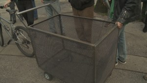 Vancouver cart share program for binners unveils prototype