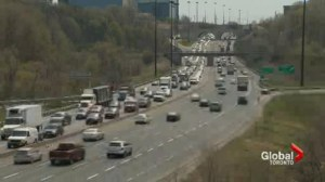 Gardiner Expressway closed all weekend