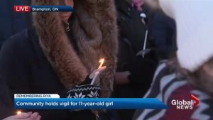City of Brampton holds vigil for Riya Rajkumar