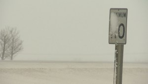 Alberta snowfall warning: Highway 16