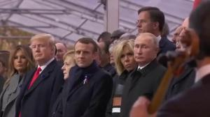 Remembrance Day: World leaders promote peace in Paris