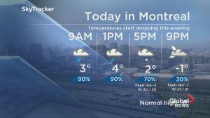 Global News Morning weather forecast: Thursday, January 24