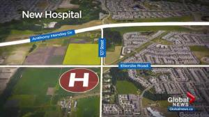 Notley government reveals where new Edmonton hospital is to be built