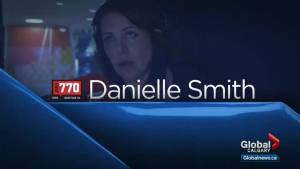 Danielle Smith joins the conversation on Calgary Global News Morning (02:44)