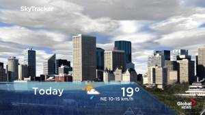 Edmonton early morning weather forecast: Tuesday, July 9, 2019