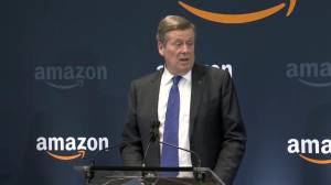John Tory calls 600 new positions at new Amazon office 'coveted jobs'