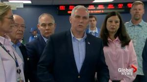 Mike Pence: President Trump greatly concerned by Hurricane Irma following briefing