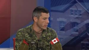 Commander of First Canadian Division headquarters to lead NATO mission. (03:18)