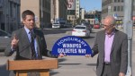 City Renames Portage Ave East as Winnipeg Goldeyes Way