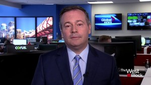 Jason Kenney is optimistic he will win the Alberta election on Tuesday