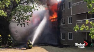 20 units damaged in Lethbridge Apartment building fire