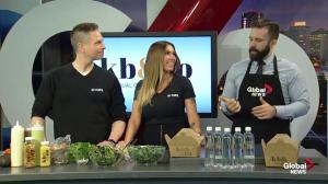 Global Edmonton kitchen with plant-based kb & co