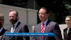 Questions raised about Rosenstein's fate and how this will affect Russia probe