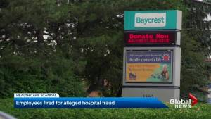 Employees fired after Baycrest Hospital fraud