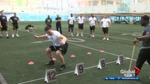 Top football prospects in Edmonton for CFL Combine