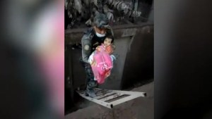 Baby pulled alive from Guatemala volcano rubble by police