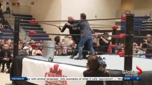 The Morning Show recaps Bill Welychka's involvement in Chinlock Wrestling's charity night