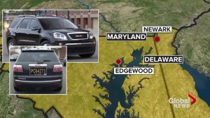 Alleged shooter in custody following manhunt in Maryland
