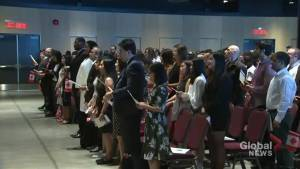 71 new Canadians make it official on Canada Day in Halifax (01:47)