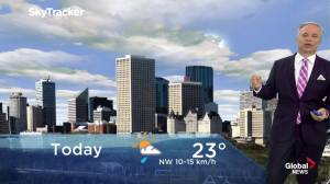 Edmonton early morning weather forecast: Monday, July 15, 2019