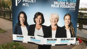 Women take Montreal 2017 elections