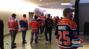 Rogers Place makes bathroom changes in response to wait times